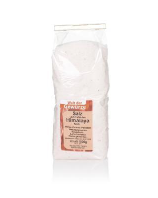 """1 kg Salz vom Fuße des """"Himalaya"""", fein"""