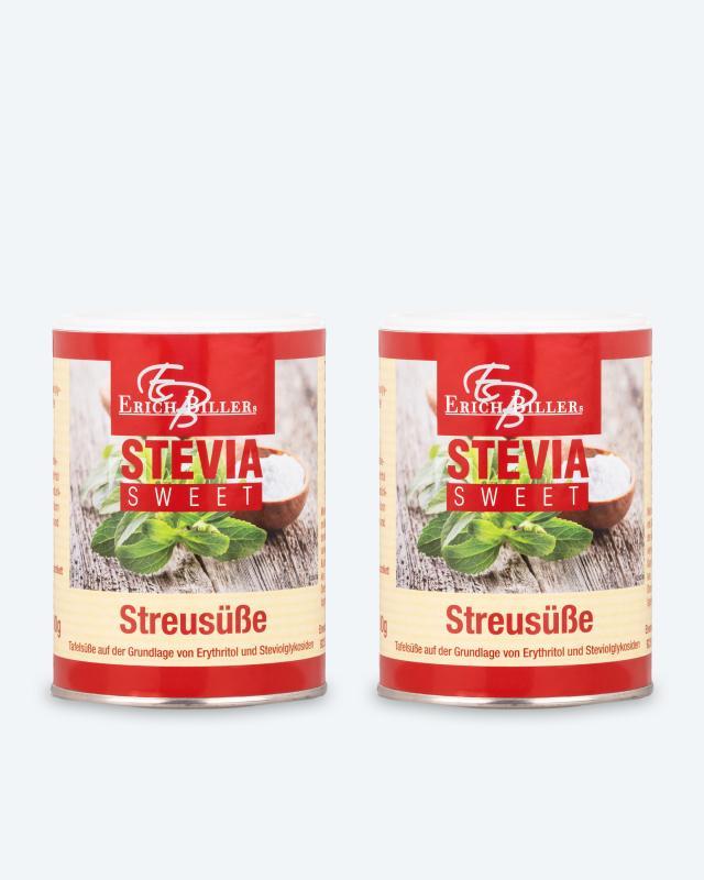 Stevia Streusüße, 2x 200 g