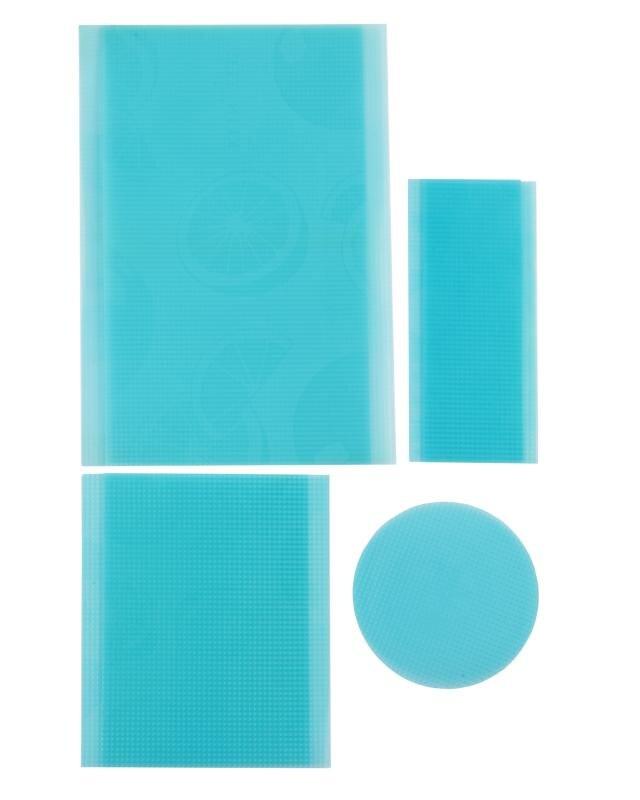 Kühlschrankmatten-Set, 6tlg.