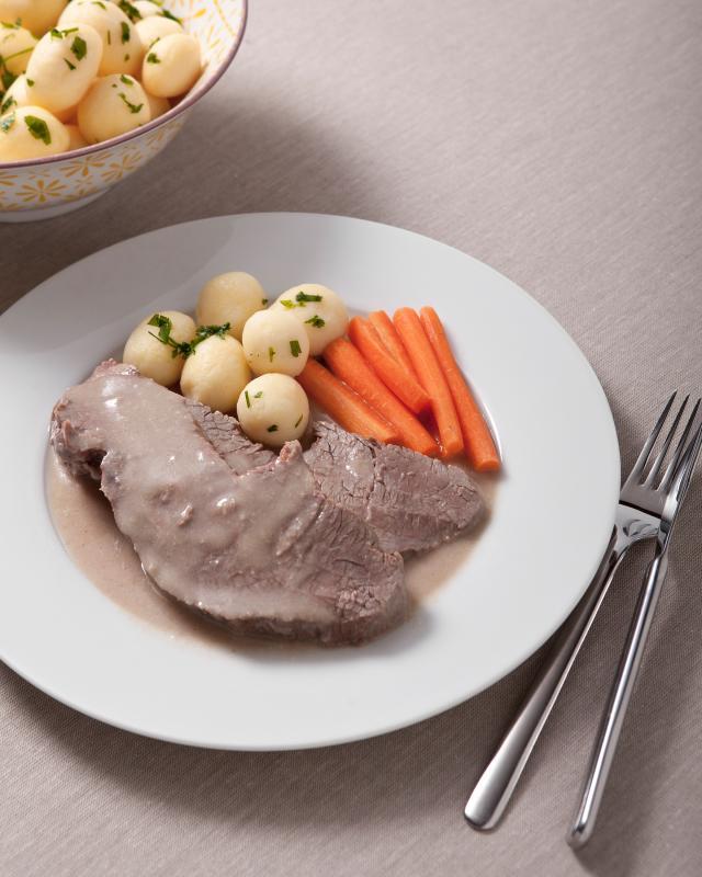 Rindfleisch in Meerrettich