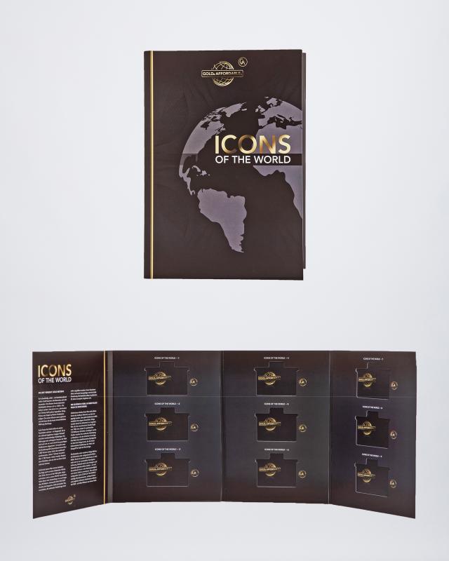 2. Sammelalbum Icons of the World
