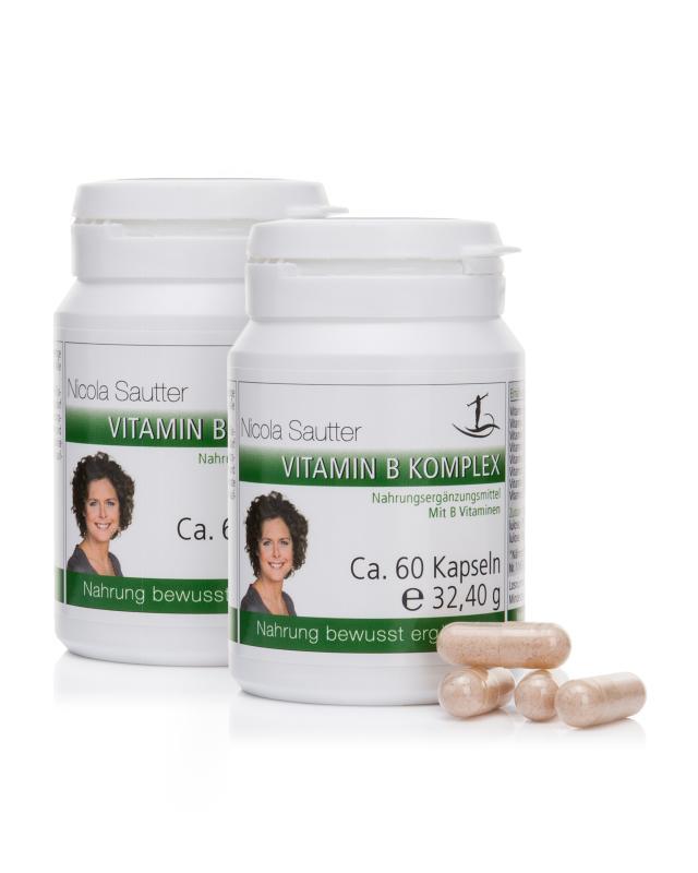 Vitamin B Komplex, 2x 60 Kapseln