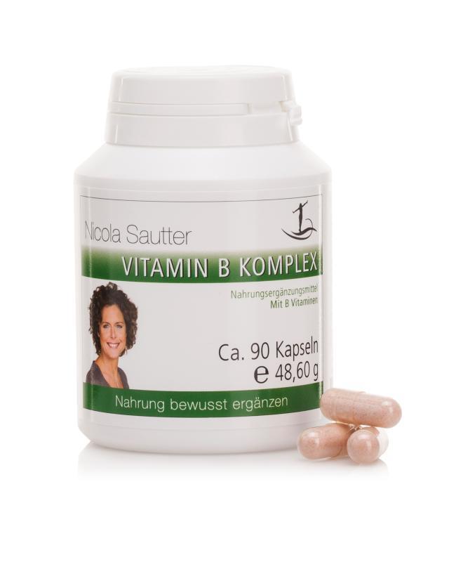 Vitamin B Komplex, 60/90 Kapseln