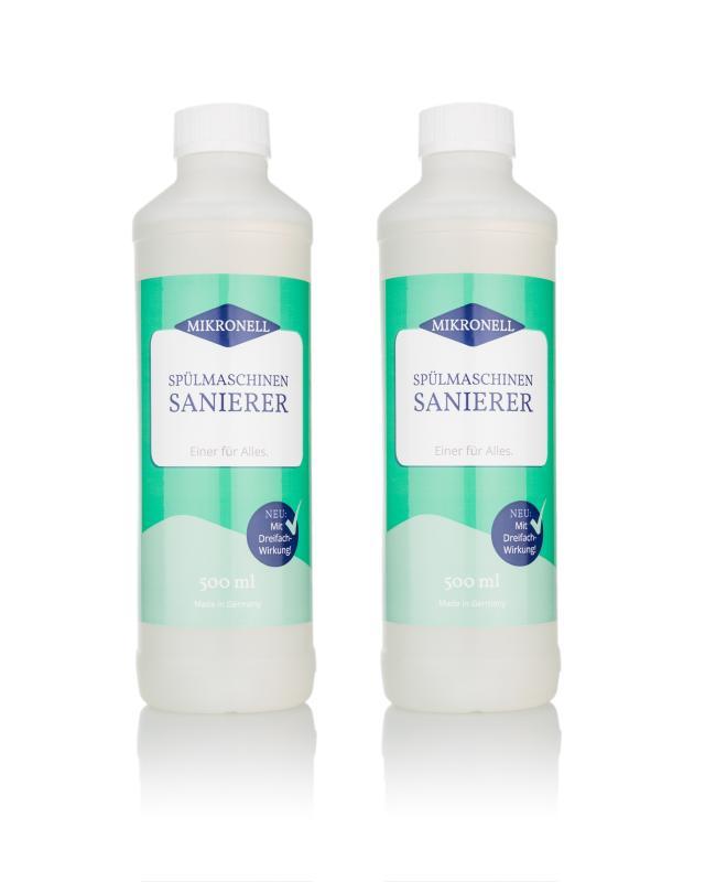 Spülmaschinen Sanierer, 2x 500 ml
