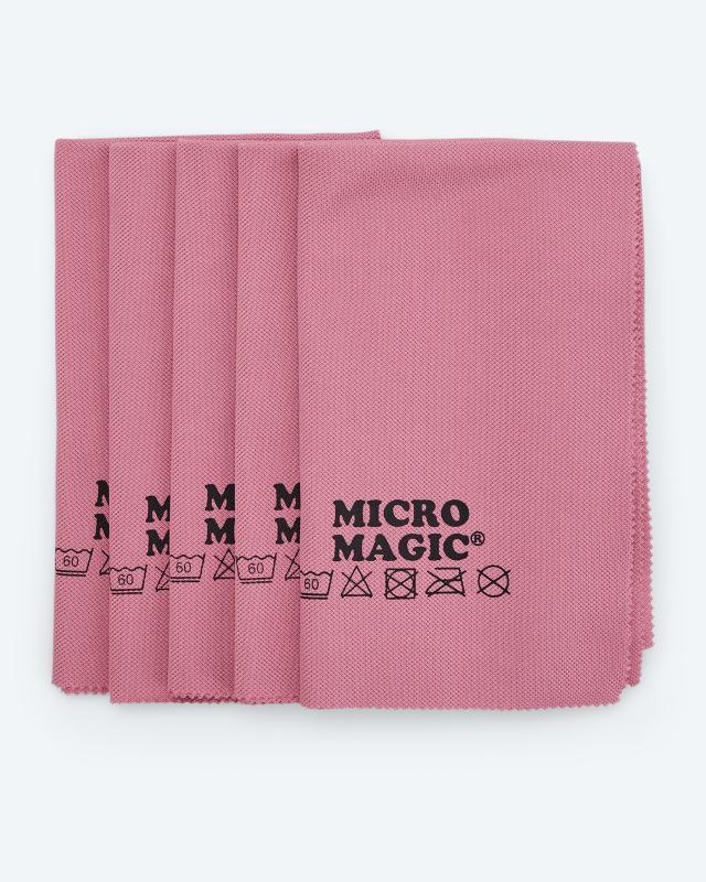 Micro Magic Poliertücher, 5tlg.