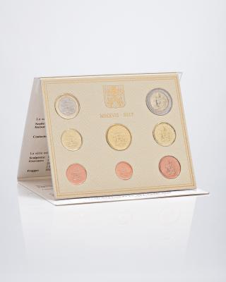 Vatikan Kursmünzensatz Ersttagsedition