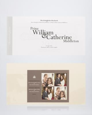 """Briefmarken """"Hochzeit Kate & William"""""""