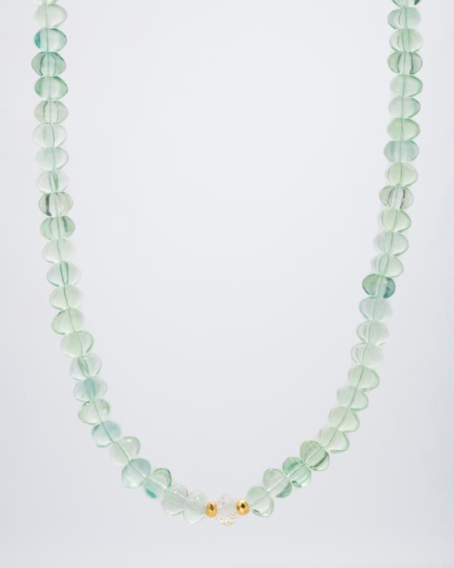 collier-mit-fluorit-pyrit-bergkristall