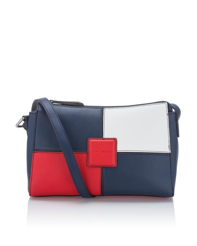 Perfekt mehrfarbige Tasche mit Reißverschluss - hier online HE03