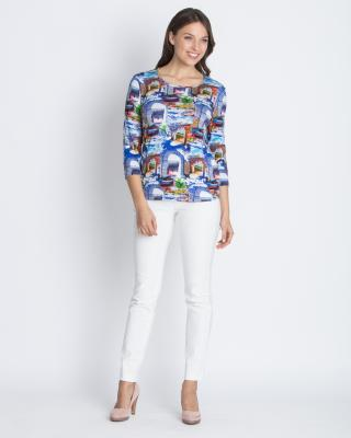 773ea2cbc113d2 Shirt mit All-over Druckmix, hier online