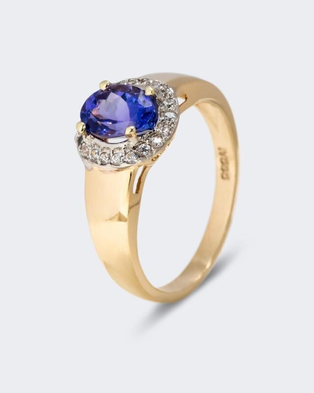 Tansanit Ring Royalamp; Zirkonen Tansanit Tansanit Ring Ring Zirkonen Mit Mit Royalamp; Mit nOP0wk