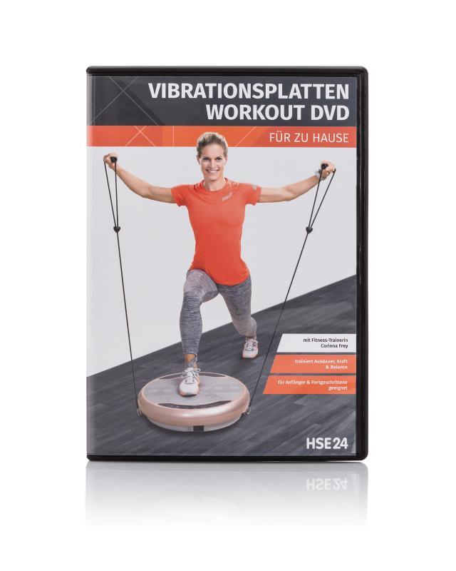 Vibrationsplatten Workout-DVD
