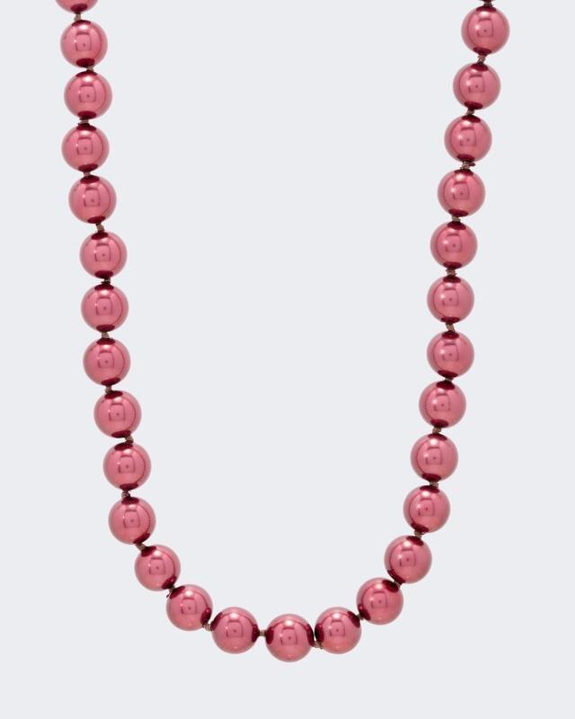 Pfeffinger Collier Muschelkern-Perlen 9 mm | Schmuck > Halsketten | Pfeffinger