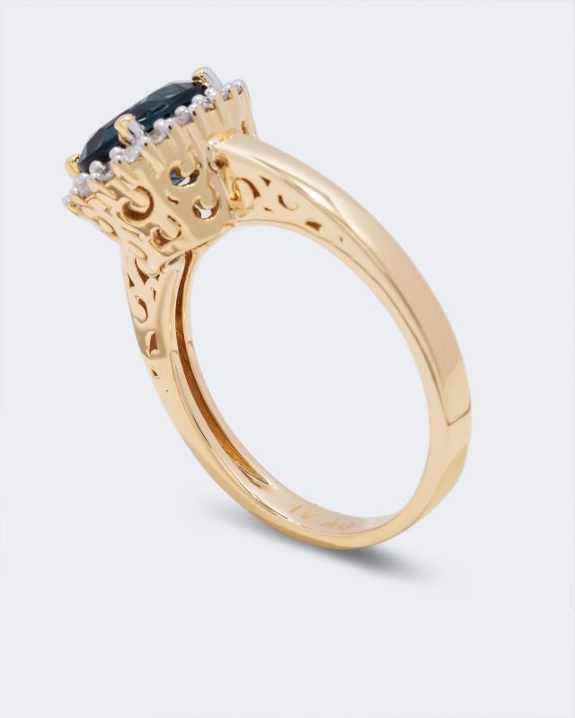 ring-mit-blautopas-beh-zirkon, 99.98 EUR @ hse24