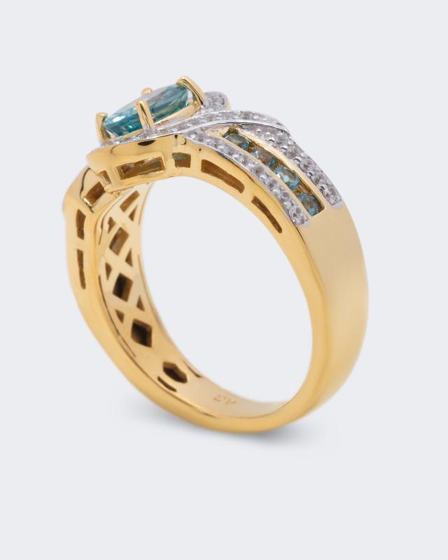 harry-ivens-ring-mit-zirkon-und-blautopas-gro-e-19, 129.98 EUR @ hse24