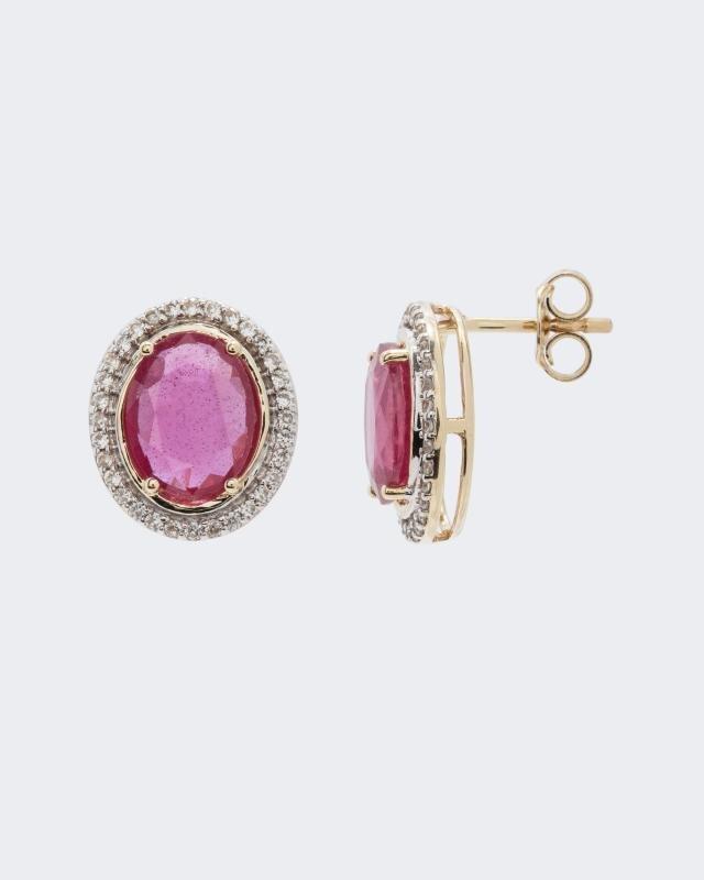 ohrstecker-pink-saphir-zirkon