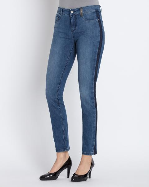 5-Pocket-Jeans mit Seitenstreifen