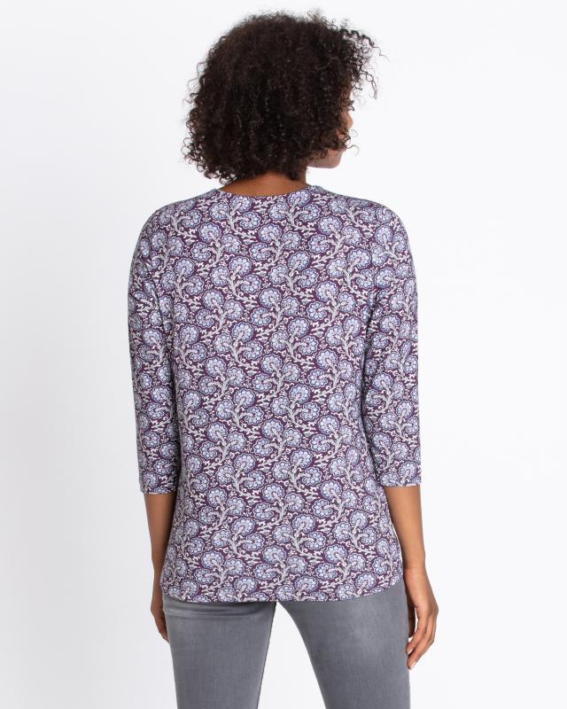 shirt-blumendruck