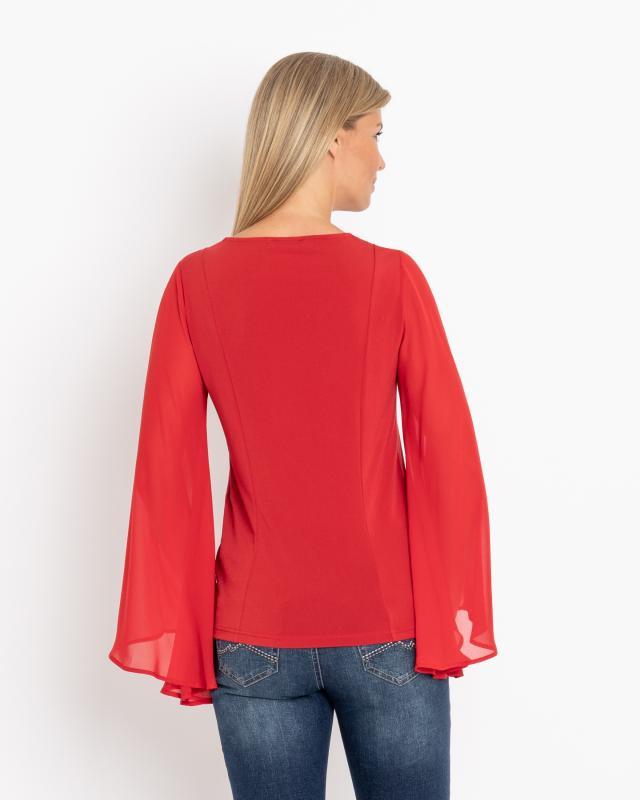 shirt-mit-chiffonarmeln, 24.99 EUR @ hse24