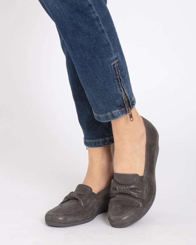 slipper-mit-schleife-und-keilabsatz, 49.99 EUR @ hse24