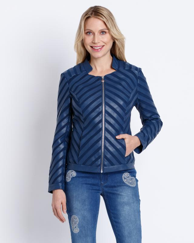 Angesehen: Judith Williams Jacke Material-Mix Hit