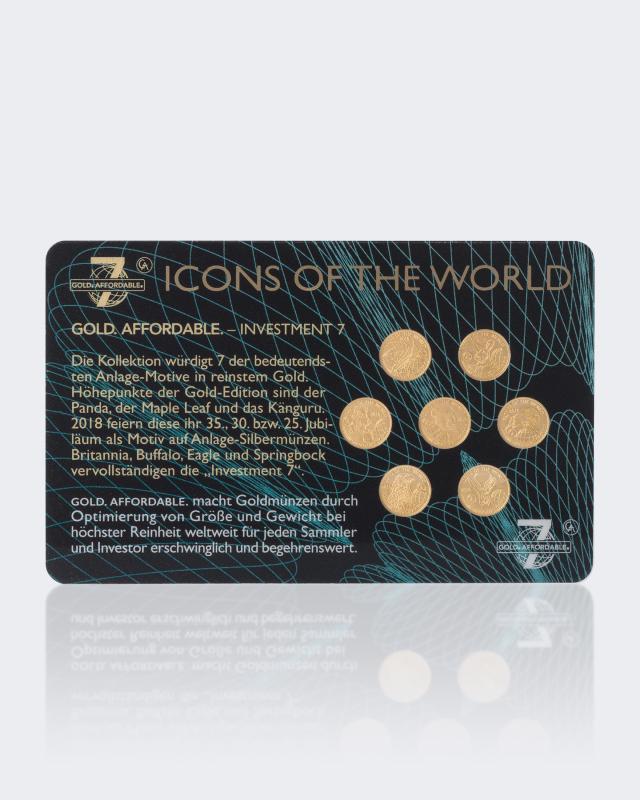 Investment 7 Goldmünzen Online Bestellen