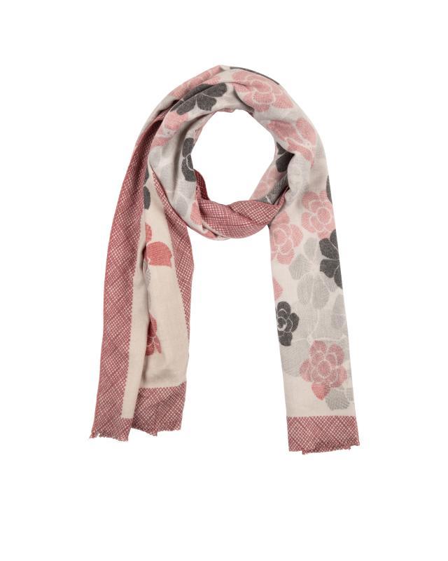 Schal mit Blumenmuster, jetzt online