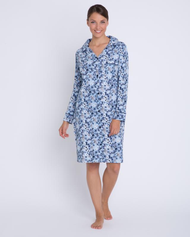 Helena Vera Nachthemd ''Blumenwiese'' | Bekleidung > Nachtwäsche > Nachthemden | Helena Vera