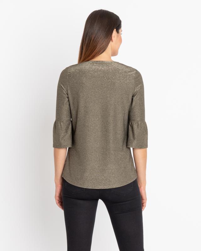 Shirt mit Glanz-Effekt Preisvergleich