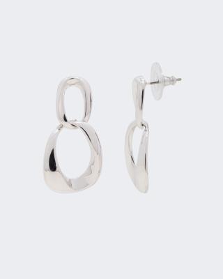 Ohrstecker mit Ringen