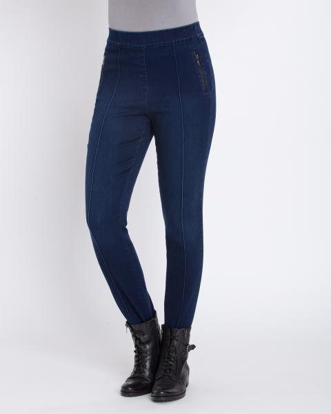 Steghose in Jeans-Optik