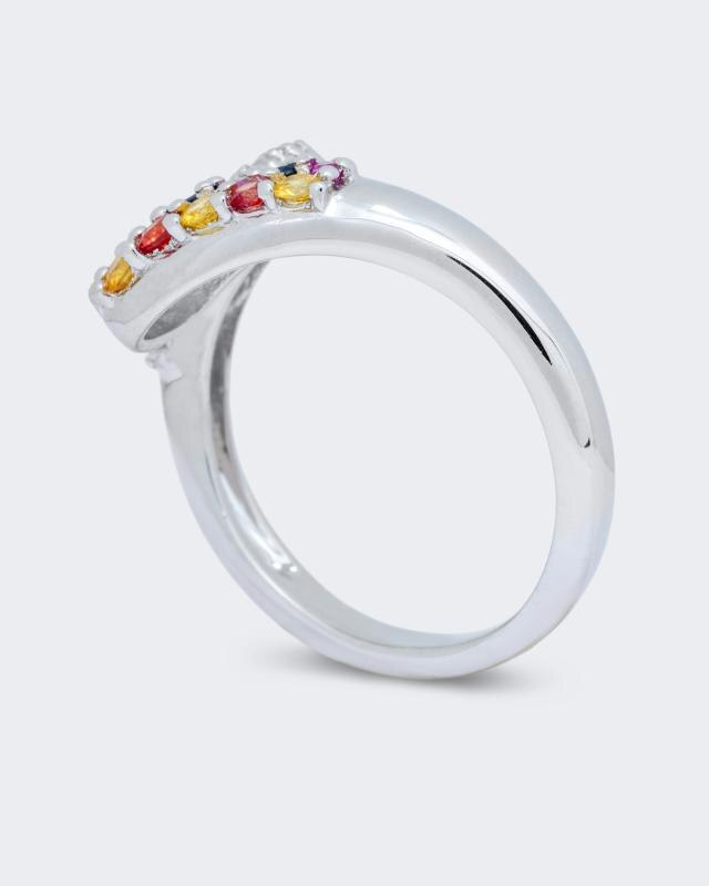 ring-im-multicolor-design-mit-wei-topas, 69.98 EUR @ hse24