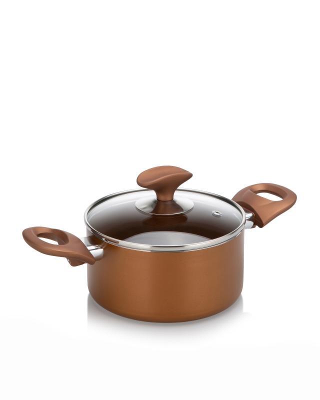 Koch Geschirr Topf Set Ofenfest Induktion Cucinella Aluguss Topfset Smart 2 tlg