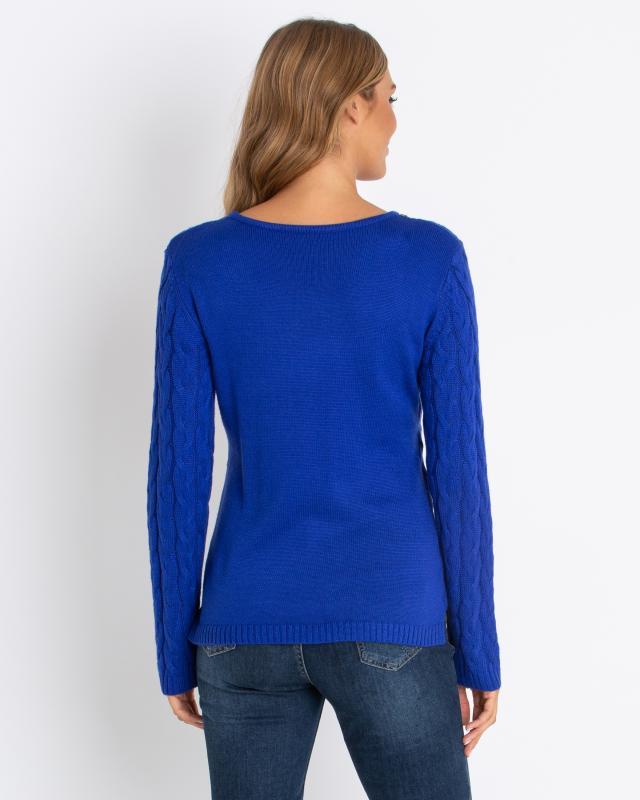 Pullover mit Zopfmuster Preisvergleich