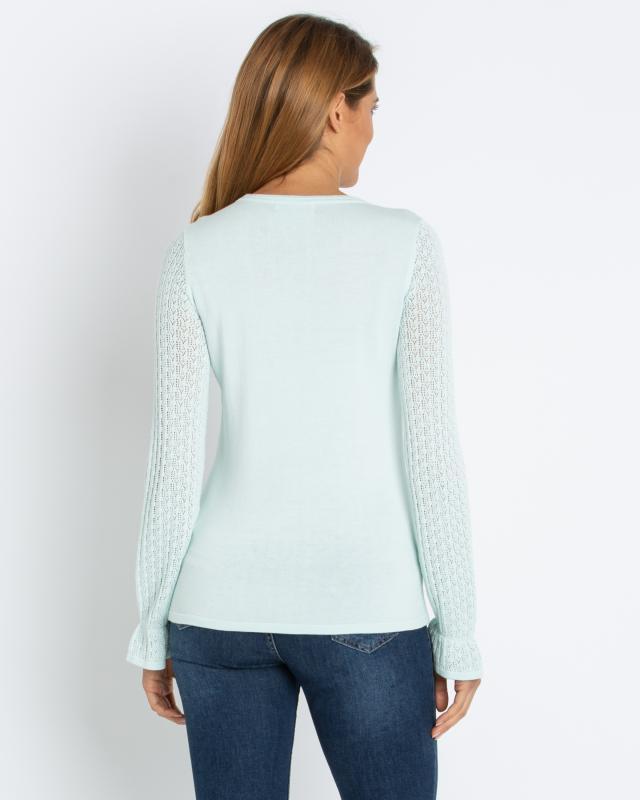 pullover-mit-ajourstrickarmeln, 69.98 EUR @ hse24