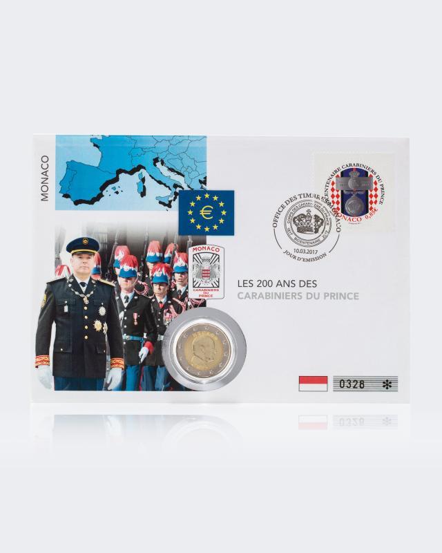 2 € Numisbrief 200 Jahre Prinzengarde