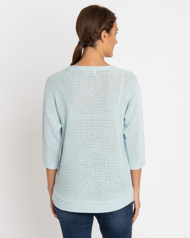 kurzarm-pullover-aus-bandchengarn, 44.99 EUR @ hse24