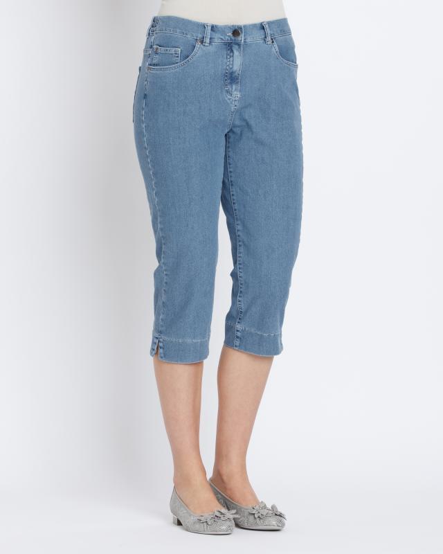Lavelle Beauty Caprijeans mit Emana-Garn | Bekleidung > Jeans > Caprijeans | Lavelle