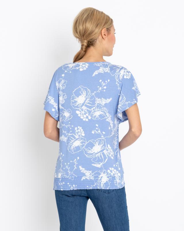 shirt-mit-hibiskus-print