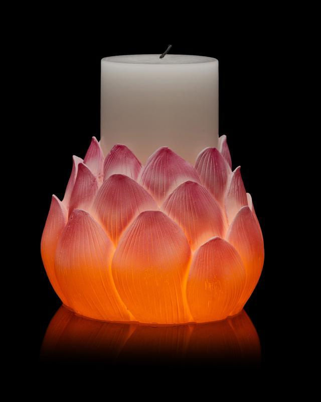 led-kerze-lotusblute-