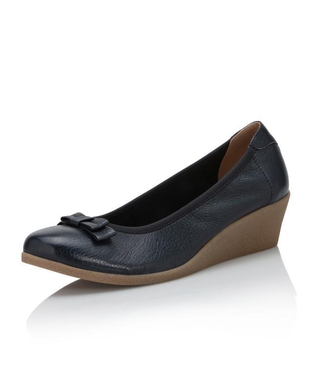 sports shoes 4480d 85b65 Ballerina mit Keilabsatz