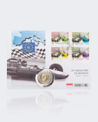2 € Numisbrief Monaco Grand Prix