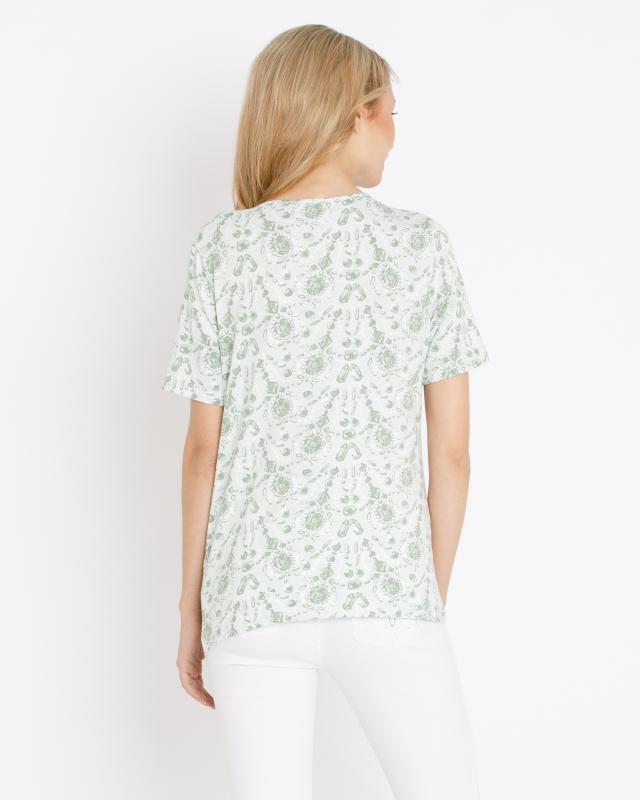 Image of Shirt mit Schmuck-Druck