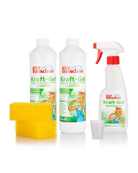 Kraft-Gel, 2x 750 ml & 2 Schwämme
