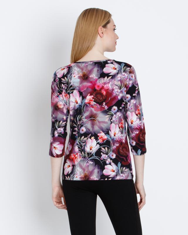 shirt-mit-3d-blumendruck, 39.98 EUR @ hse24