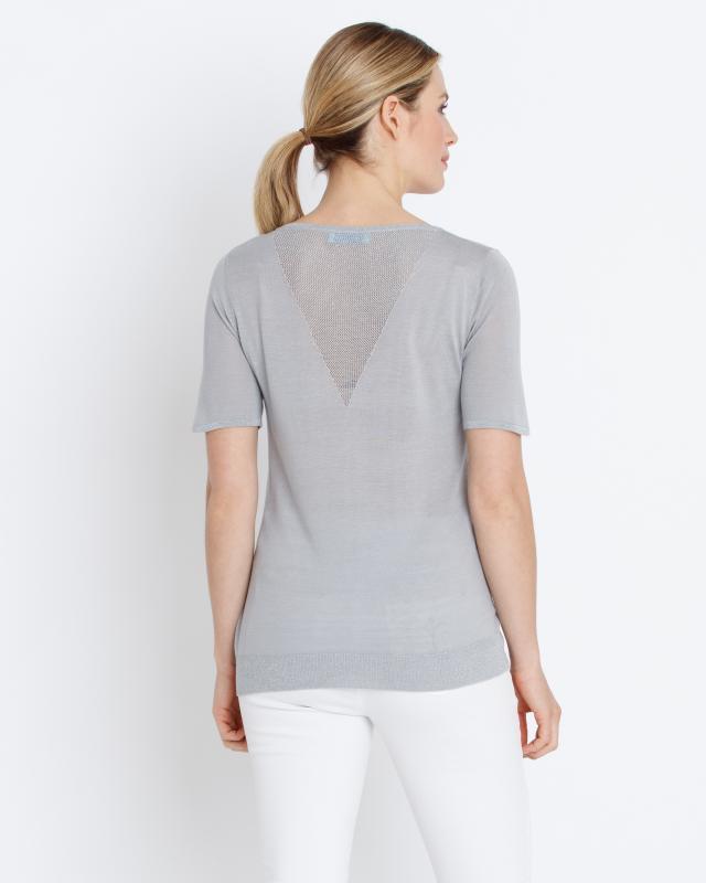 strickshirt-mit-glanzgarn, 69.98 EUR @ hse24