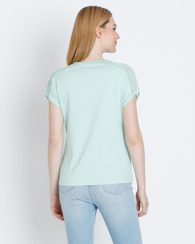 shirt-mit-chiffoneinsatz, 59.99 EUR @ hse24