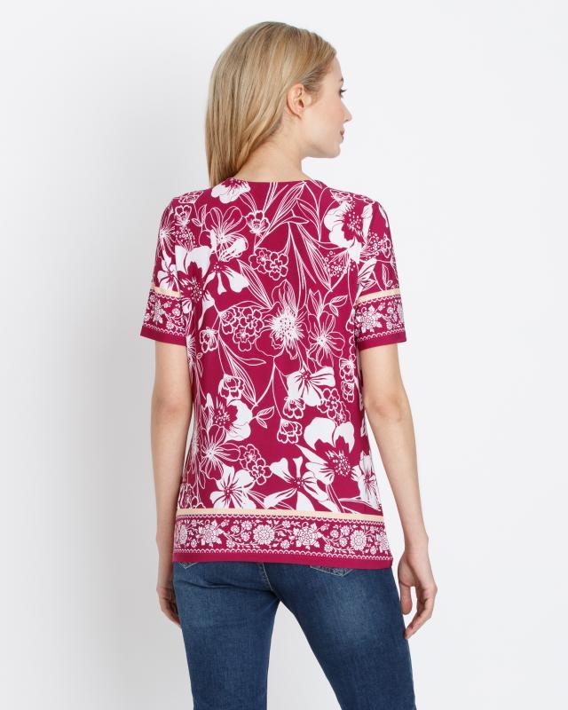 shirt-ornament-blumendruck, 34.99 EUR @ hse24