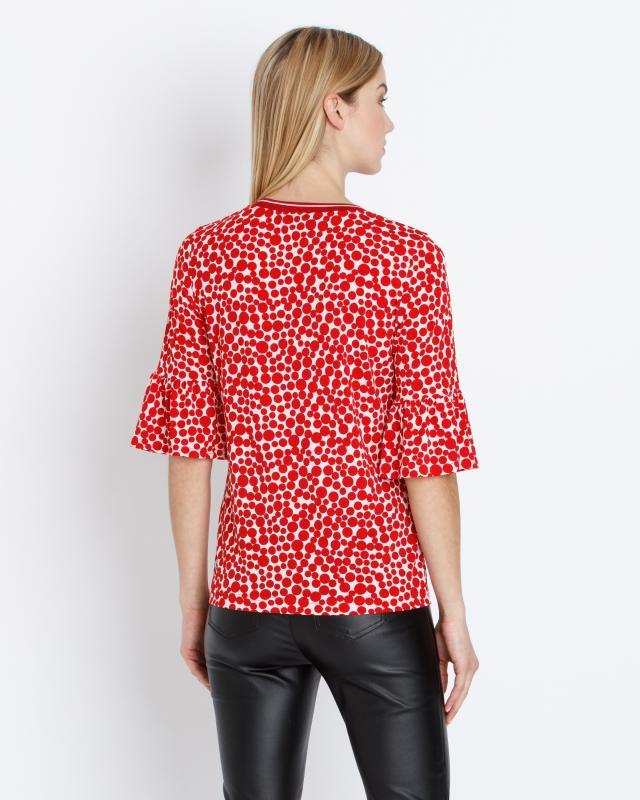 shirt-mit-punktedruck, 59.99 EUR @ hse24