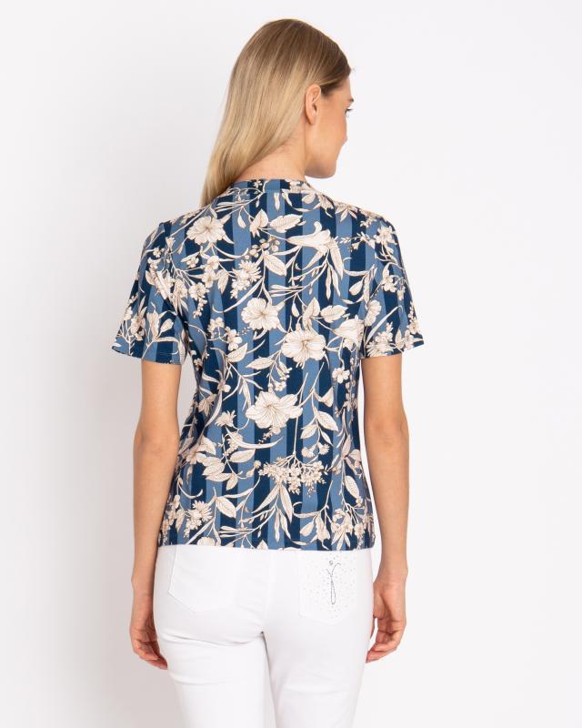 shirt-blumen-streifendruck, 49.99 EUR @ hse24